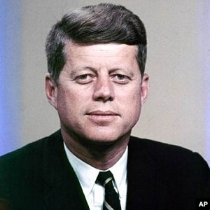 john f kennedy color p