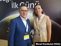 İyi Parti TBMM Grup Başkanvekili Lütfü Türkkan VOA Türkçe muhabiri Yıldız Yazıcıoğlu'yla