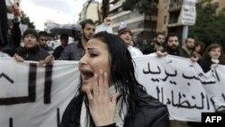 Prizor sa jednog od mnogobrojnih skupova protiv sektaške politike u Libanu