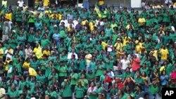 As celebrações do centenário do ANC, em Bloemfontein