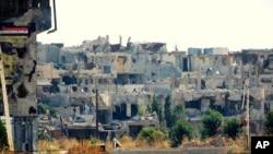 L'opposition syrienne a dénoncé de nouvelles destructions dans quatre villes du pays