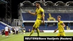 Zna se da su ti navijači produžena ruka vlasti: Dejan Savićević; Kosovski fudbaleri proslavljaju gol u Podgorici