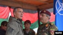 NATO Bosh kotibi Jens Stoltenberg Afg'onistonda, 6-noyabr, 2014-yil.