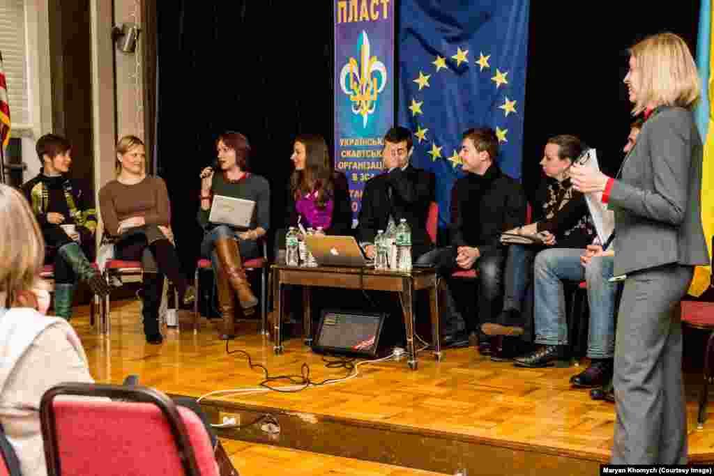 Українські активісти у Нью-Йорку