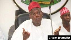KANO: Dr. Abdullahi Umar Ganduje gwamnan Kano