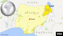 Kota Baga di negara bagian Borno, Nigeria.