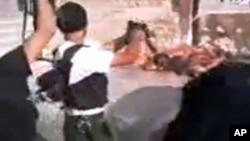 紐約時報刊登的處決敘利亞士兵的錄像和照片令人感到恐怖。