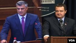 Hašim Tači i Ivica Dačić