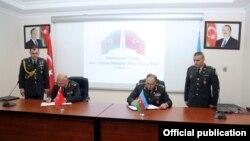 Azərbaycan-Türkiyə hərbi protokolu imzalanır