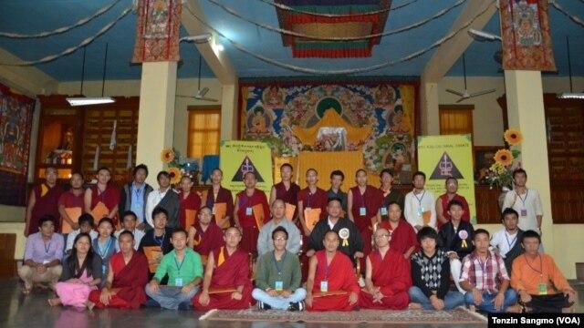 Participants of the 6th Annual Debate on Tibetan Cultural Studies at Sarah Institute