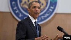 美国总统奥巴马。(资料照片)