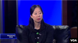 Jenny Yang, vice president of advocacy and policy, World Relief, appearing on Hashtag VOA, Nov. 24, 2015.