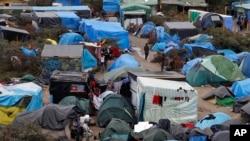 Logor za smeštaj migranata u Kaleu