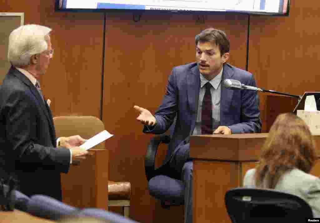 اشتون کوچر بازیگر هالیوود در پرونده یک مظنون به قتل های سریالی شهادت می دهد. در حالی دادگاه مایکل گارگیولو در حال برگزاری است که در یک مهمانی در سال ۲۰۰۱، کوچر نیز در آن حضور داشت و درباره جزئیات آن مراسم به دادگاه توضیح داد.