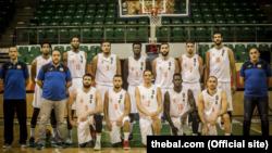 Groupement Sportif des Petroliers da Argélia - equipa de basquetebol que participa na BAL, em Kigali, Ruanda