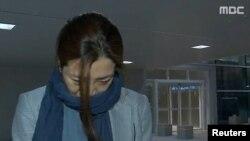 Bà Cho Hyun-min, phó Chủ tịch cấp cao của Hãng hàng không Korean Air.