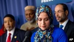 ویل کیږي چې په مینیسوتا کې یو شمېر مسلمانو میرمنو حجابونه لېرې کړي چې د افراطیانو له شره په امان وي