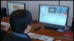 افتتاح تلويزيون سه بعدی در چين