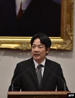 台灣前行政院長賴清德 (2017年9月5日資料照片)