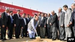 نواز شریف در تهداب گذاری پروژه هسته ای