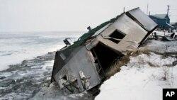 Деревня Шишмарев , Аляска, декабрь 2006.