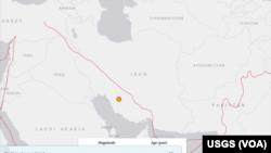 این زلزله در شهر «خان زنیان» در استان فارس، بین شهرهای شیراز و کازرون، روی داده است.