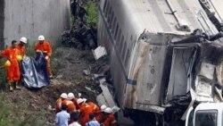 رعد و برق موجب تصادفی مرگبار در خط آهن سريع السير چين شد