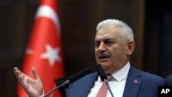 Thủ Tướng Thổ Nhĩ Kỳ Binali Yildirim miêu tả cuộc biểu quyết ở Đức là phi lý.