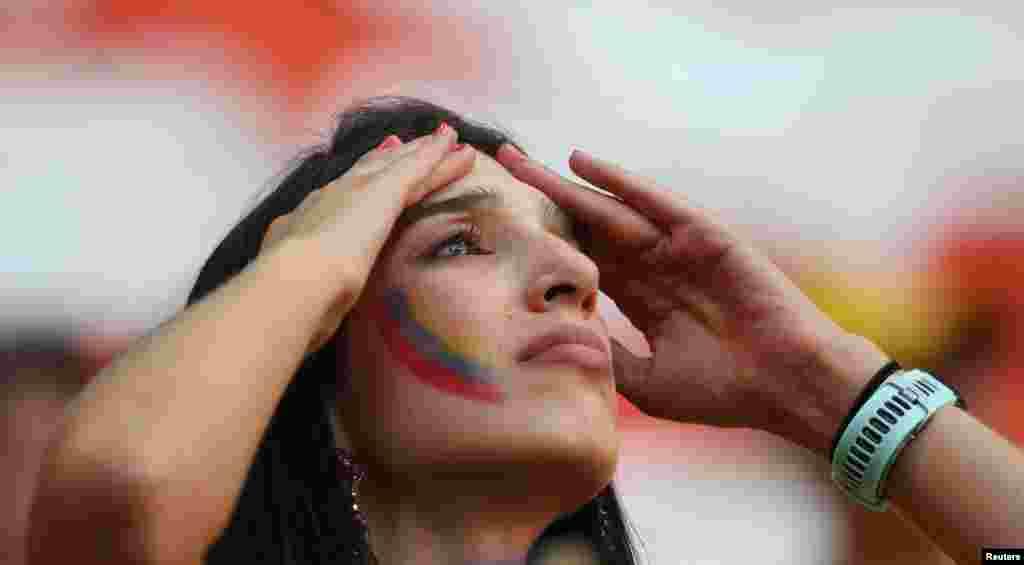 O desespero vendo o jogo Polónia vs Senegal