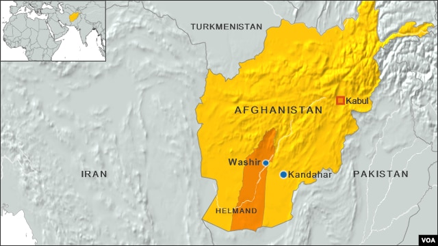 Afghanistan, Helmand province
