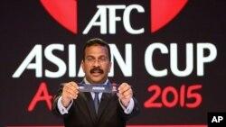قرعه کشی مسابقات جام فتبال آسیا در استرالیا