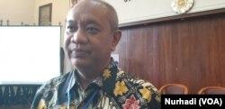 Lilik Kurniawan, Direktur Pemberdayaan Masyarakat BNPB. (Foto:VOA/Nurhadi)