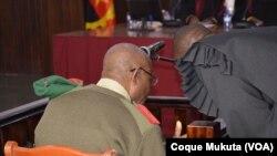 Antigo chefe da secreta angolana em tribunal