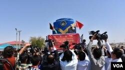 انتظار می رود که این قطار به رشد اقتصادی افغانستان کمک کند