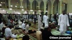Taron adduar karshe ta watan Ramadan a babban Masallacin Najeriya dake Abuja