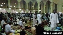 ABUJA: Adduar karshe ta watan Ramadan a babban Masallacin Najeriya dake Abuja