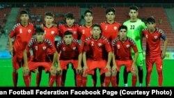 ملی پوشان ۱۵ سال افغانستان پس از چهار سال برای فوتبال کشور شان جام آوردند.