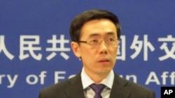 Jurubicara Kementerian Luar Negeri Tiongkok Liu Weimin mengatakan Beijing berkeberatan penggunaan tekanan dan sanksi atas Suriah.