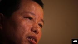 图为中国秘密关押的著名律师高智晟资料照