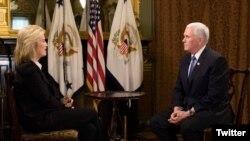 Интервју со американскиот потпретседател Мајк Пенс на надворешната соработничка на Гласот на Америка Грета ван Сустерн
