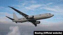 ABD donanması tarafındank kullanılan P-8 Poseidon keşif uçağı
