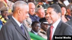 Wagombea urais Zanzibar Seif Shariff Hamad na Rais Ali Mohamed Shein