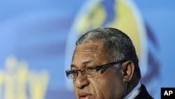 Fiji Prime Minister Frank Bainimarama (file photo)