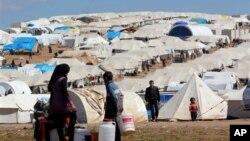 시리아 북부 이들리브의 아트메 난민 캠프. (자료사진)
