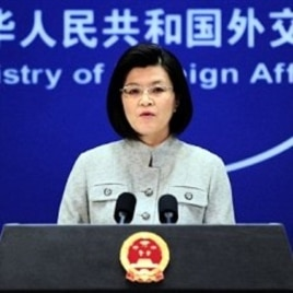 Chinese foreign ministry spokeswoman Jiang Yu responds to questions during a press briefing in Beijing (File Photo)