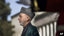 Predsednik Avganistana Hamid Karzai