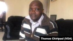 Freed MDC activist, Last Maengahama
