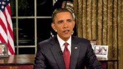اوباما در لحظه پايان مأموريت رزمی آمريکا در عراق گفت «شکل دادن به آينده بر عهده ما است»
