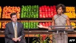 Michelle Obama'yla Wal-Mart Sağlık İçin Elele
