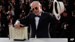 Đạo diễn Jacques Audiard đoạt giải Cành Cọ Vàng với phim Dheepan, 24/5/15